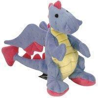 Quality Sherpa Baby Dragon Periwinkle Dog Toy With Chew Guard Go Dog by Sherpa Pet Group LLC. for sale