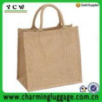Handbag cheap jute tote bag wholesale