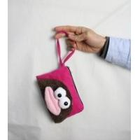 Quality Coin purse/wallet factory price big mouth chinese silk coin purse for sale
