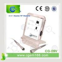 Quality CG-09V 2 in 1 tripolar radio frequency & rf bipolar RF machine for sale