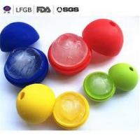Quality Distributor Wanted Products FDA&LFGB single Ball Shape Silicone Ice Cube Tray for sale
