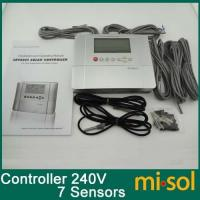 China Controller for Split Pressurized Hot Water System 7 Sensors 240V 39 Systems on sale