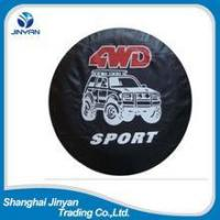 Quality PU leather car external accessories wheel cover tire cover for sale