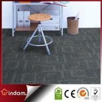 Stock quality guaranteed 600g/m2 grey color PP carpet tiles square