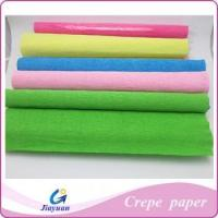 Buy cheap Colorful crepe paper Art craft crep paper Model No.: JY-1303 from wholesalers