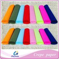 Buy cheap crepe paper Model No.: JY-1303 from wholesalers