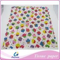 Buy cheap custom logo printing colorful tissue paper Model No.: JY-1401 from wholesalers