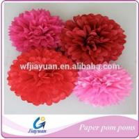China Party Decoration Tissue Paper Pom Poms on sale