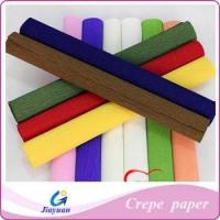 Buy cheap Colored crepe paper,crepe paper packing flowers Model No.: JY-1303 from wholesalers