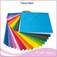Quality Flowers packaging tissue paper & wrapping colorful tissue paper for sale