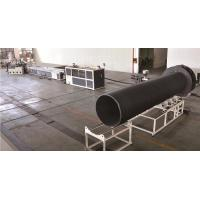 Buy cheap Steel Reinforced Spirally Wound PE Drainage Pipe Extrision Line from wholesalers