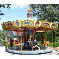 Quality Carousels Sixteen animal turntable merry go round for sale