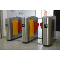 China Time attendance colorful flap turnstile gate on sale