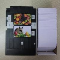 Quality inkjet printable pvc card for Epson or Canon printer for sale