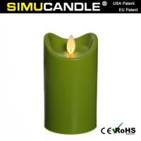 2.7 Inches Resin Candle LCX5T-G