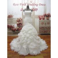Quality WDZ25 Mermaid Lace Up Off The Should Strapless Beading Wedding Dress for sale