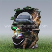 Quality Animal fountains Two rabbits water tabletop fountains for sale