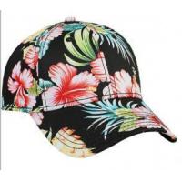 Quality Good quantity Hawaii style cotton baseball cap for sale
