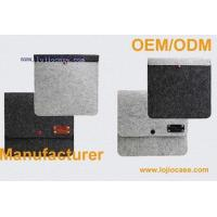 Quality iPad mini Case Wool Felt Stand Leather Case for sale
