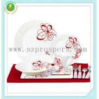 Quality Round shape set 44pc set with placemat&cutlery for sale
