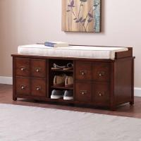 Buy cheap Specials *CLOSEOUT SEI Large Apothecary Storage Bench from wholesalers