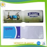Quality Card holder PVC ATM Card Jackets for sale