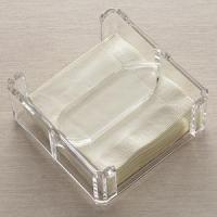 Quality Acrylic Counter Displays Lucite Clear Napkin Holder for sale