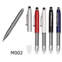 China Promotional Pen M002 Metal pen with LED light on sale