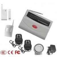 Quality 8 zones wireless PSTN alarm with keyboard for sale