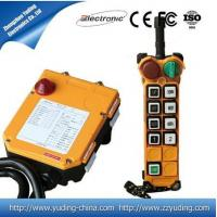 Quality F24-8D crane remote controls for sale