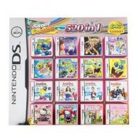 China WholeSale 3Pieces/Lot, 520-in-1 Super Game Card 64GB Multi Games Card for Nintendo DS DS Lite on sale
