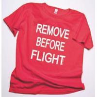 Quality Remove Before Flight Ladies Scoop Neck T-Shirt for sale