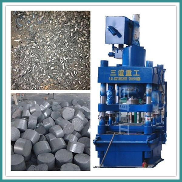 Buy Fully Automatic High-density Metal Scrap Briquette Machine at wholesale prices