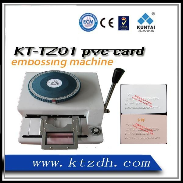 Buy Plastic cards embossing machine at wholesale prices