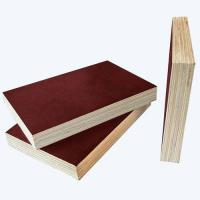High quality two times press 18mm brown film faced plywood for construction