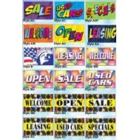 Quality 3' x 5' Calescent Dye Display Flags for sale