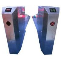 Quality Outdoor One Directional Wing Access Control Turnstiles with Sound Alarm Function for Parks for sale