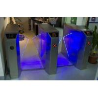 Quality Remote Control Wing Access Control Turnstiles with Light Alarm Function for Residential CE for sale