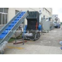 Quality PP PE film washing, washing, drying line Waste Plastic Recycling Machine for sale