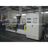 Quality PET recycle twin screw extruder Equipment / Plastic Granulating Machine for sale
