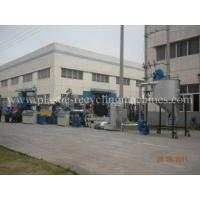 Quality Double tanks waste PET, PP, HDPE Recycle pelletizing Plastic Granulating Machine for sale
