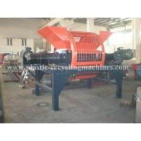 Quality Type waste recycling line crushing Double shaft shredder (380V 50HZ 22kw ) for sale