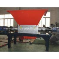 Quality Big die head, pipe, plastic, woodwaste recycling line Double shaft shredder for sale