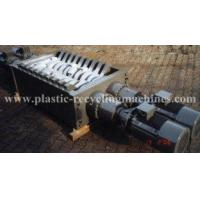 Quality crushing plastic and rubber pipe, wood, die head Double shaft shredder for sale