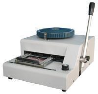 Quality Plastic card embosser CQ-E2000 for sale
