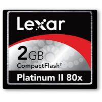 Buy cheap Compact CF Flash Cards Lexar 2GB Platinum II 80X CompactFlash from wholesalers
