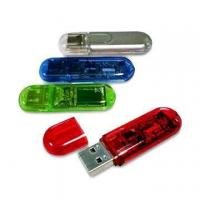 Buy cheap Translucent USB Flash Dr... USB Flash drive--style from wholesalers