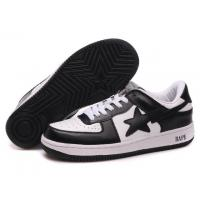 Quality Bape New and Better shoes black / white for sale