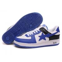 Bape New and Better shoes blue / white