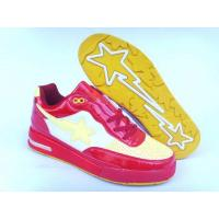 Quality Bape Air shoes red / white / yellow for sale
